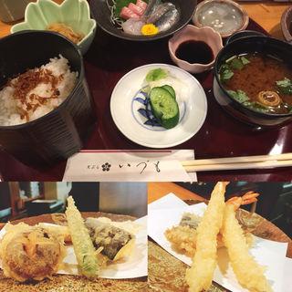 特上天ぷら定食(天ぷら いづも )