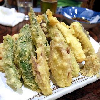 野菜の天ぷら(ほろよい )