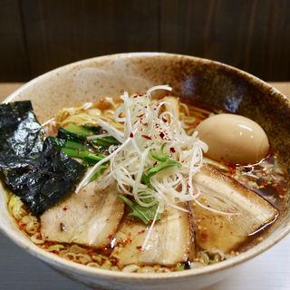 ピリ辛醤油ラーメン(麺や一徳)