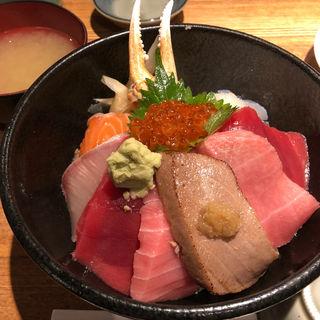 海鮮丼(築地 つな男)