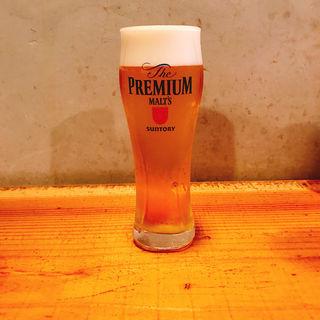 生ビール(プレミアムモルツ)