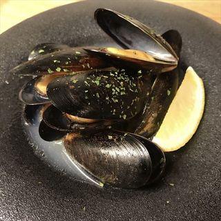 ムール貝のシャンパン蒸し