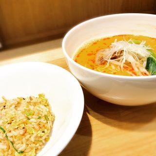 担々麺セット(宝来 (HORAI ホウライ))