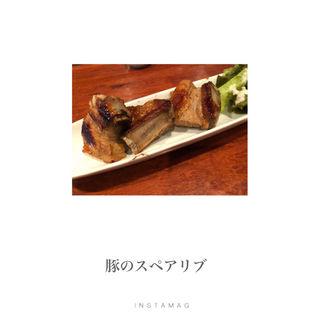 豚肉のスペアリブ