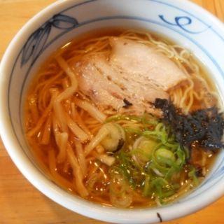 阿波地鶏塩らぁ麺ミニ
