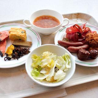 マイ日替り朝定食(ビュッフェ朝食)