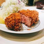 カタロース定食(とんかつ檍 浅草橋店)