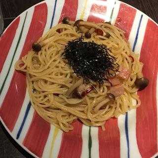 キノコとベーコンの和風パスタ(サンマルクカフェ 大阪本町店 )