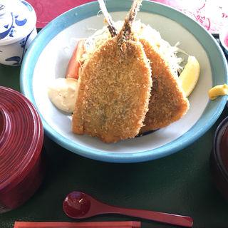 鯵フライ定食(西熱海ゴルフコース レストラン )