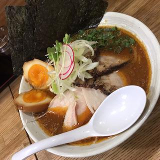 味噌らぁ麺 スペシャルトッピング(らぁ麺 しろ)