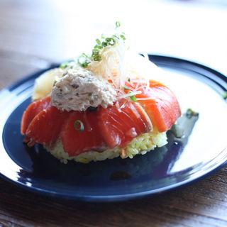 真鯛とサーモン(made in 10)