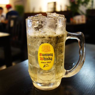 ジムビールハイボール(肉が一番 三番館高砂店)