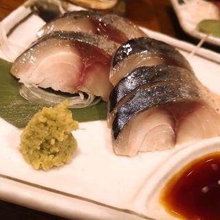 〆鯖(九州料理 マルキュウ )