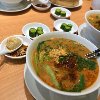 担々麺のセット(鼎泰豊 シャポー船橋店)