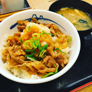 プレミアムおろしポン酢牛めし(松屋 成城学園前店 )