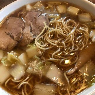 白菜ラーメン焼飯セット(中華料理 鉄人 )