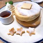 ふわふわとろける三ツ星パンケーキ