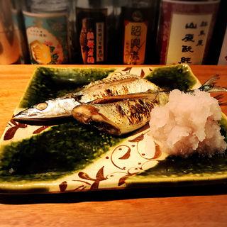 秋刀魚の塩焼き(酒家の元)