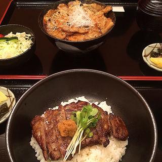 牛ステーキ丼(とはち)