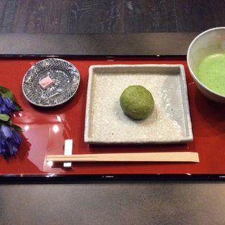 季節の生菓子 お飲み物セット(厨 otona くろぎ)