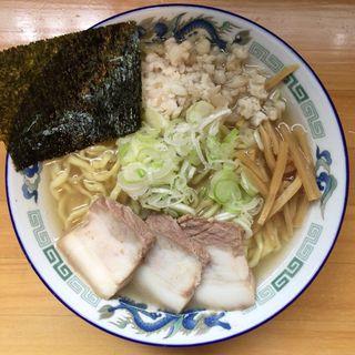 太麺中華 塩(自家製麺 佐藤 )