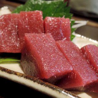 マグロ刺(旬味旬菜 大和)