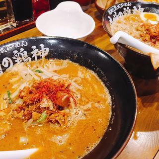 純味噌らーめん(味噌の鶏神)