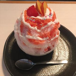 プラム(かき氷 蔦)