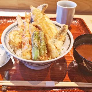 限定 三崎の魚天丼(天蒼々)