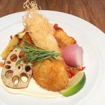 魚介のフリット(dining social)