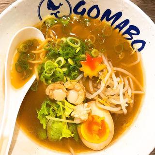 鯛だし醤油ラーメン(鯛だし担々麺 GOMABO (ごま坊))