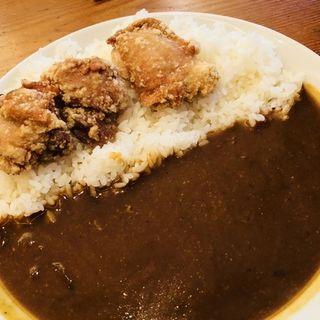 ランチの唐揚げカレー(ナゴミヤ )
