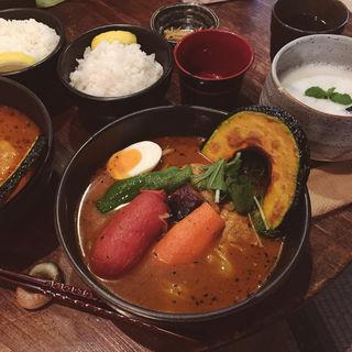 スープカレー(奥芝商店 八王子片倉城 )
