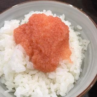 明太ごはん(中華そば担々麺 六味亭 (ロクミテイ))