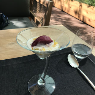 ココナッツのパンナコッタ(TRATTORIA CREATTA)