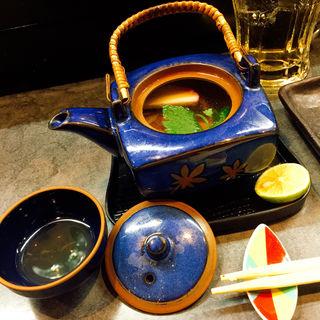 松茸土瓶蒸し(京や )