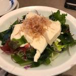 くずし豆腐と海藻サラダ(かごの屋 北大路下鴨店 )