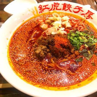 紅麻辣担々麺(紅虎餃子房 イオンモール幕張新都心)