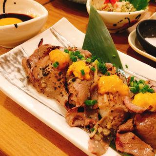 肉寿司(食道楽 神楽坂店 )