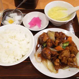酢豚(美山飯店)
