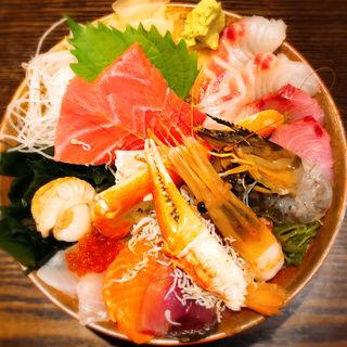 極上海鮮丼(市場食堂 さかなや )