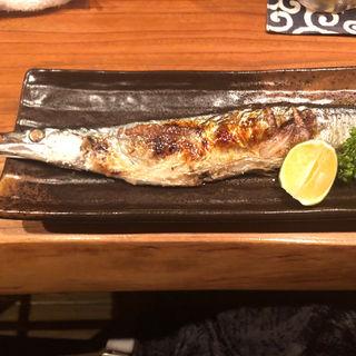 焼き秋刀魚(ヌンチャク )
