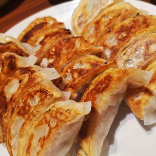 焼き餃子(中華粥 香港ロジ 渋谷桜丘町店)