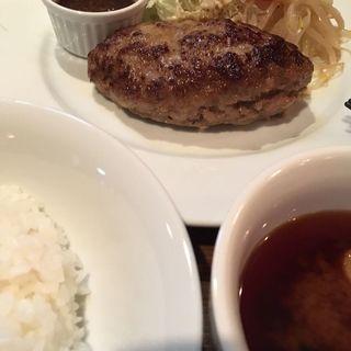 ハンバーグ定食(ナゴノ サロン (Nagono Salon))