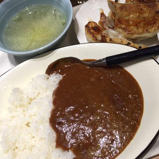 餃子カレー定食(東京餃子楼 京橋店)
