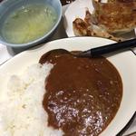 餃子カレー定食