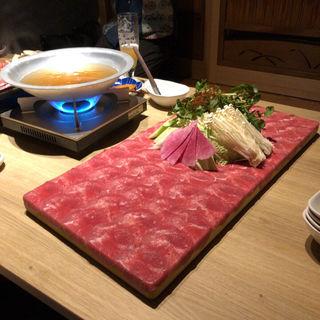 牛タンしゃぶしゃぶ(由乃 本山店)