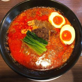 特製麻辣担々麺(らぁ麺 紫陽花 (ラアメン アジサイ))
