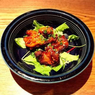 韓国風鶏の唐揚げ(恵比寿らっきょ (エビスラッキョ))