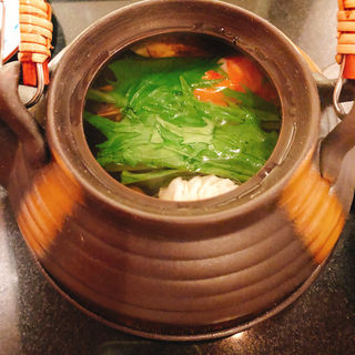 土瓶蒸し(桂 (ステーキハウス・カツラ))